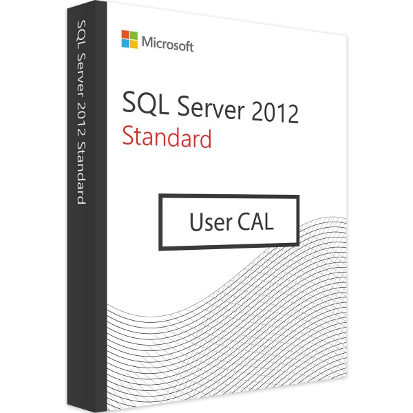 Microsoft SQL Server 2012 Standard - 1 User CAL