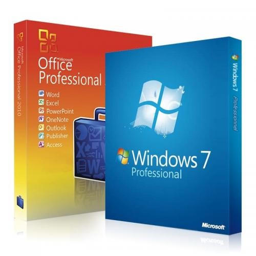 Windows 7 Professional + Office 2010 Professional Download + Lizenzschlüssel