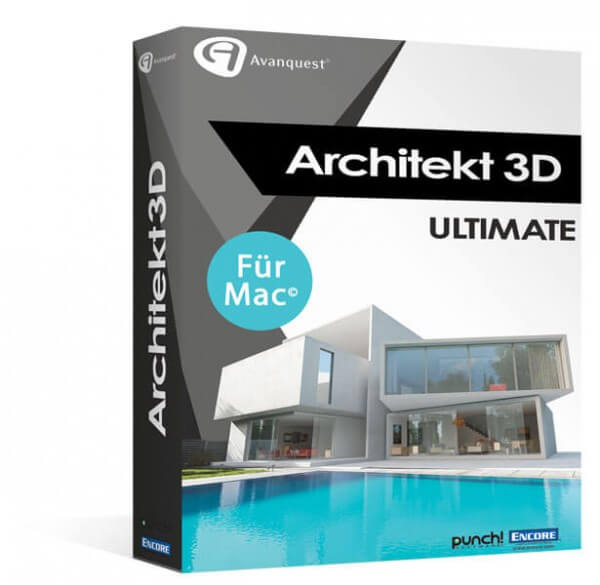 Avanquest Architekt 3D X9 Ultimate 2017 für MAC