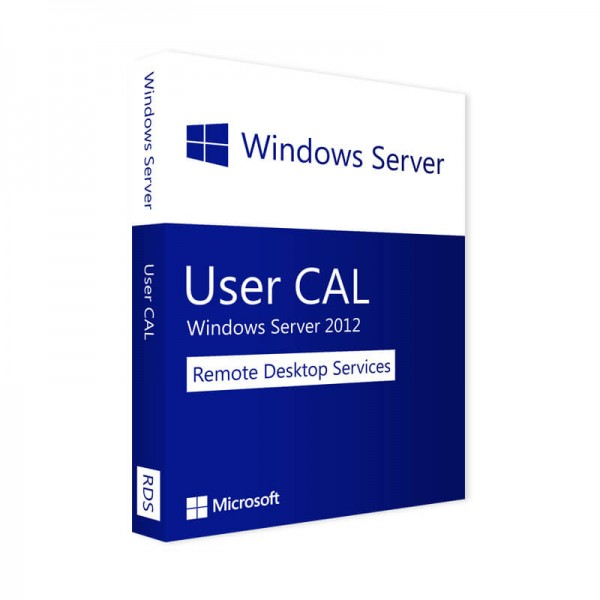 Windows Server 2012 RDS - 10 User CALs