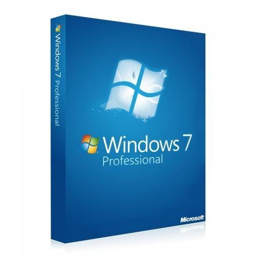 Windows 7 Professional 32/64 Bit Vollversion Download-Lizenz