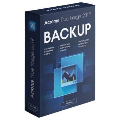 Acronis True Image 2019 1 Gerät PC/MAC